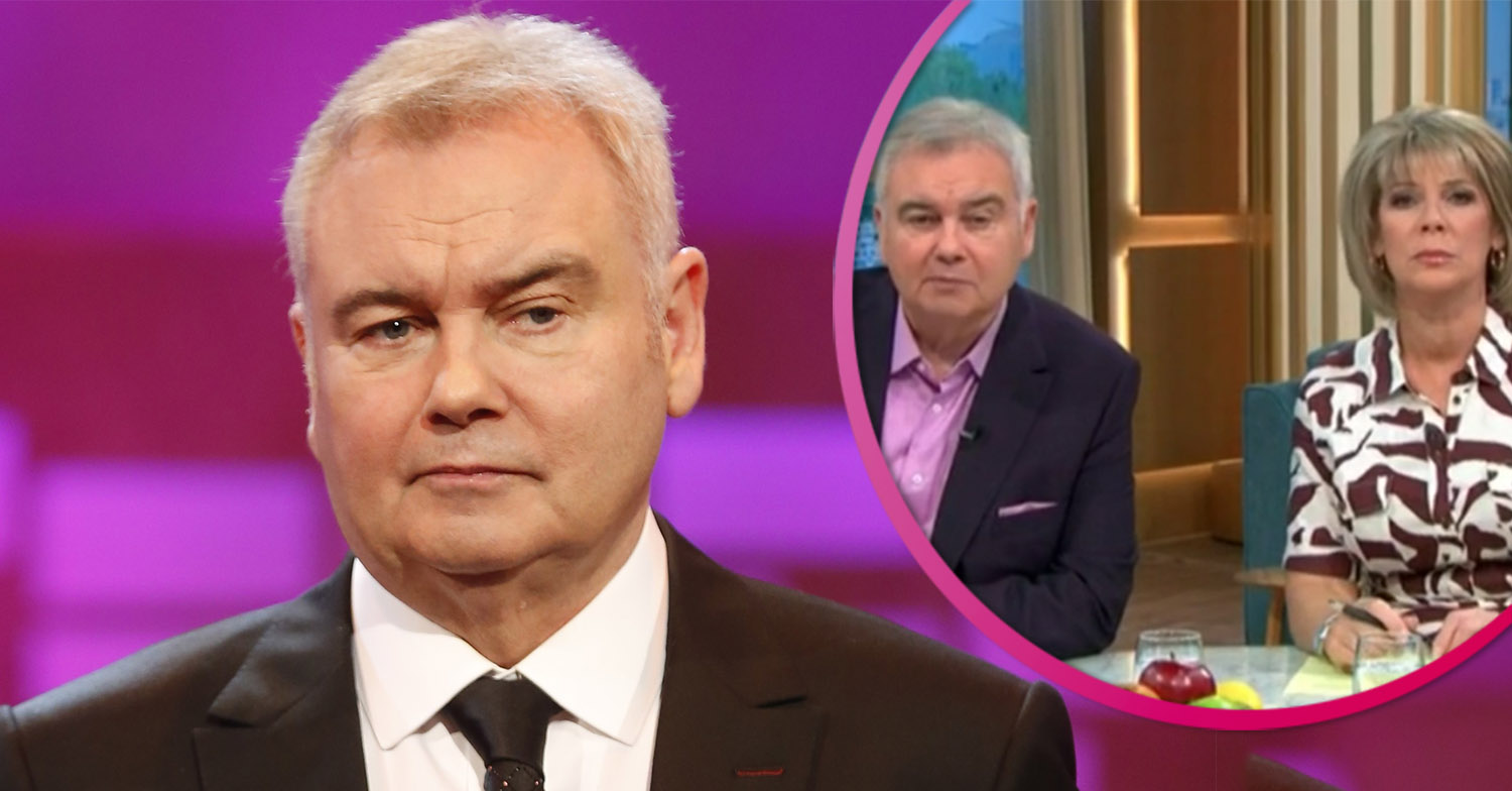 Eamonn Holmes shares naked photo to celebrate returning to This Morning for summer