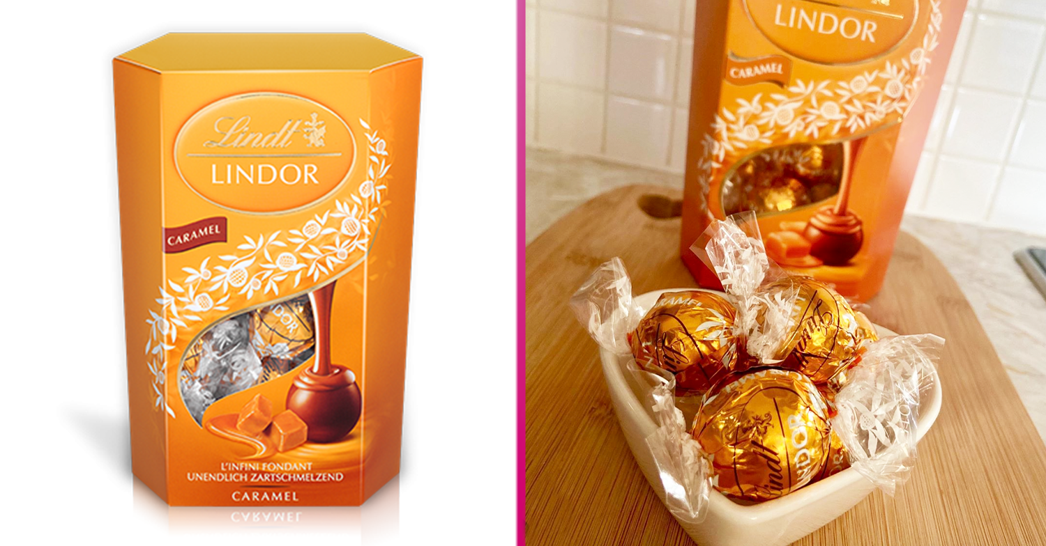 Lindt Lindor Caramel Truffles exist and you can buy them right now at B&M
