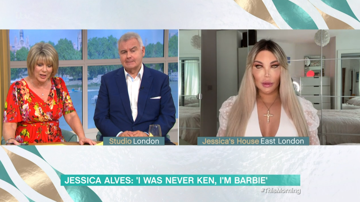 Jessica Alves on This Morning