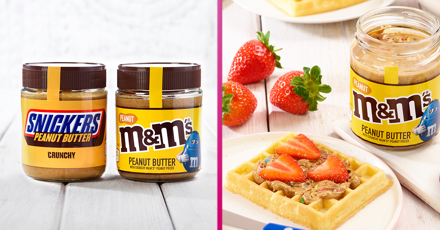 M&Ms and Snickers chocolate peanut butter spreads go on sale at B&M this week