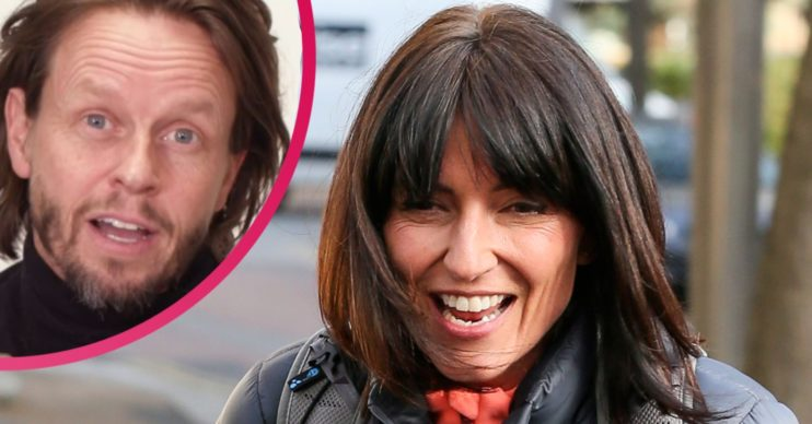 Davina McCall and Michael Douglas