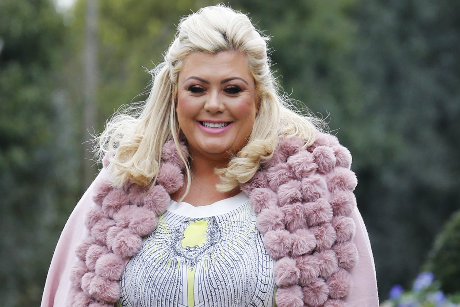 Gemma Collins shows off glowing tan as she enjoys holiday in the sun