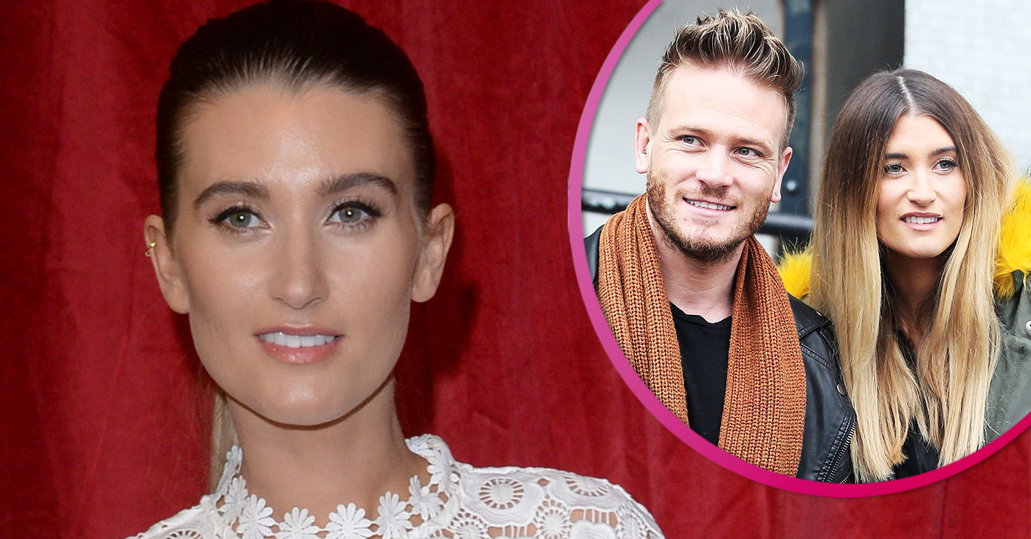 Emmerdale's Charley Webb shares family photo with husband Matthew Wolfenden and sons