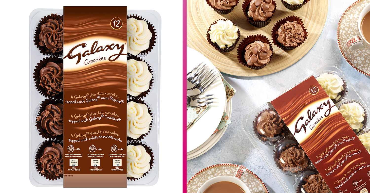 Galaxy launches chocolate cupcake platter and it's on sale at Asda now