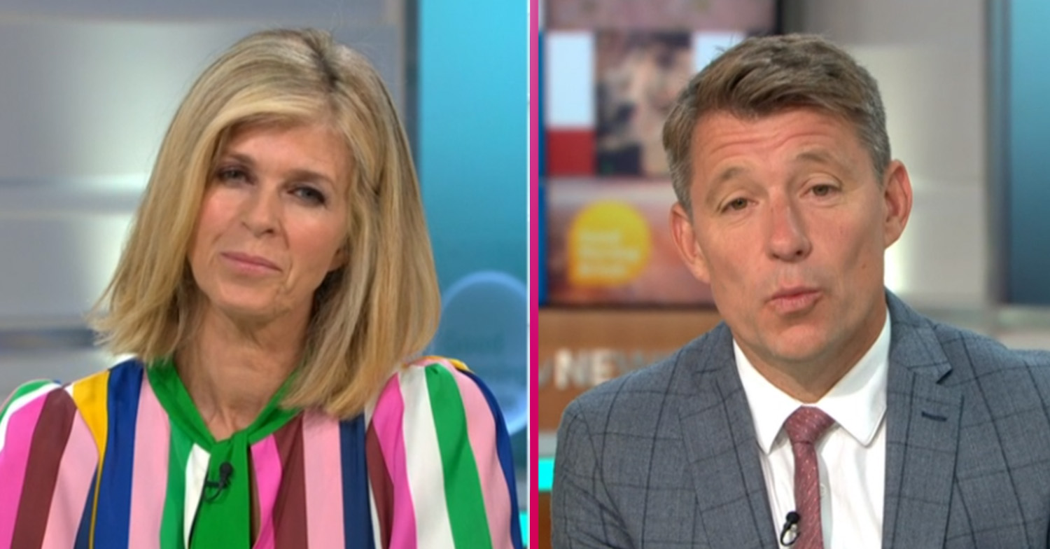 Kate Garraway calls Ben Shephard 'effortlessly sexy' as GMB shows off smouldering topless shot
