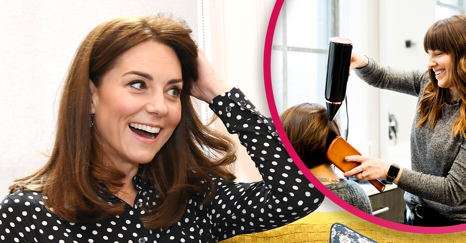 The Duchess of Cambridge shows off her post-lockdown hair transformation