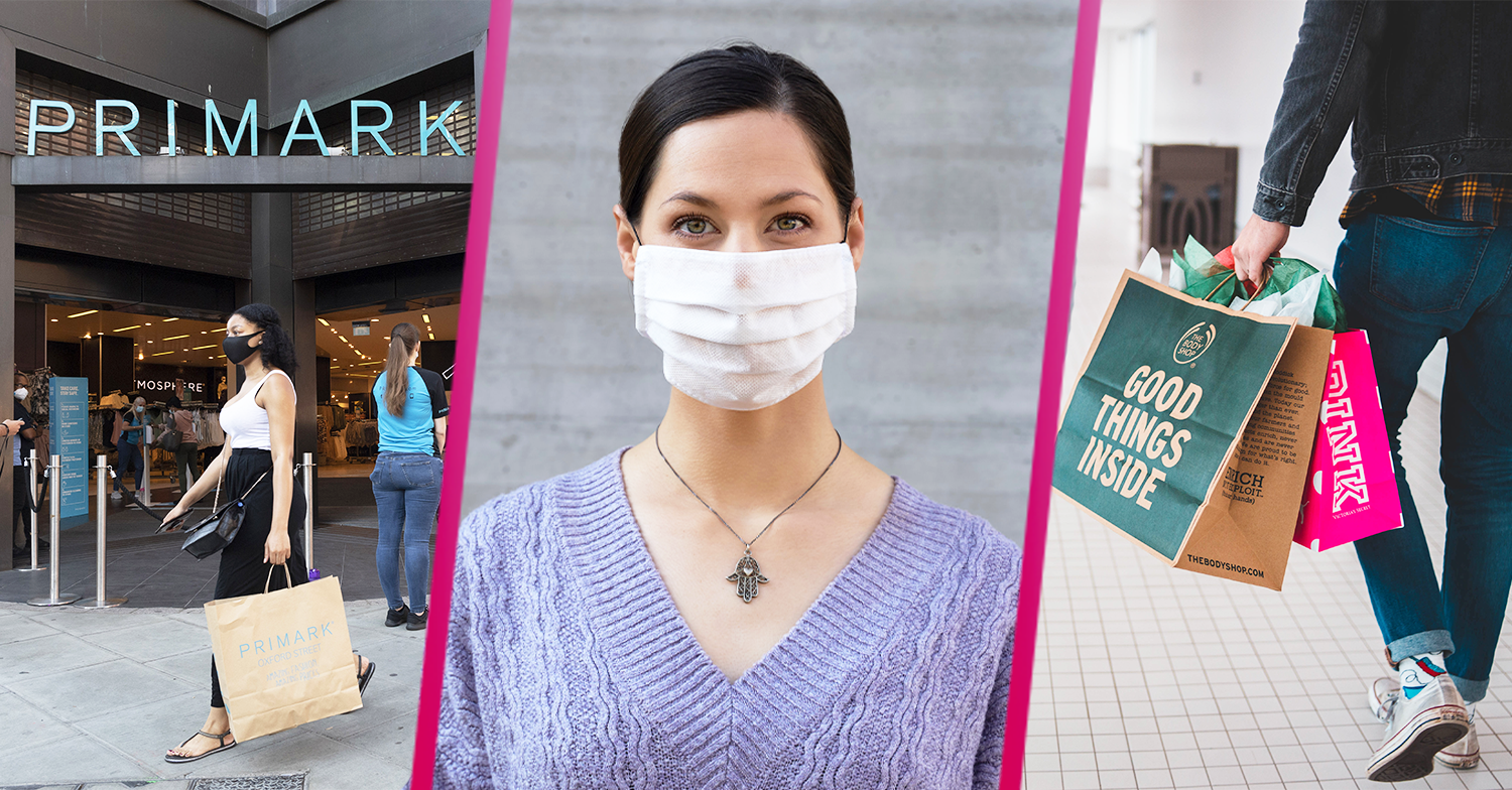 Face masks to become mandatory in shops and Brits will be fined for not wearing one