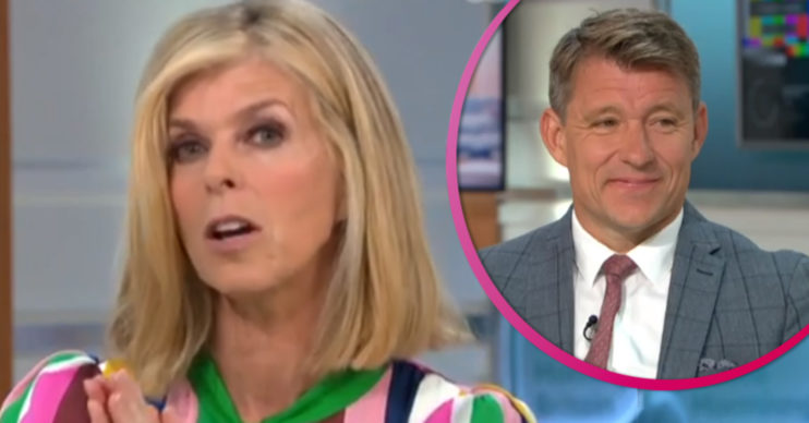 Kate Garraway and Ben Shephard on GMB