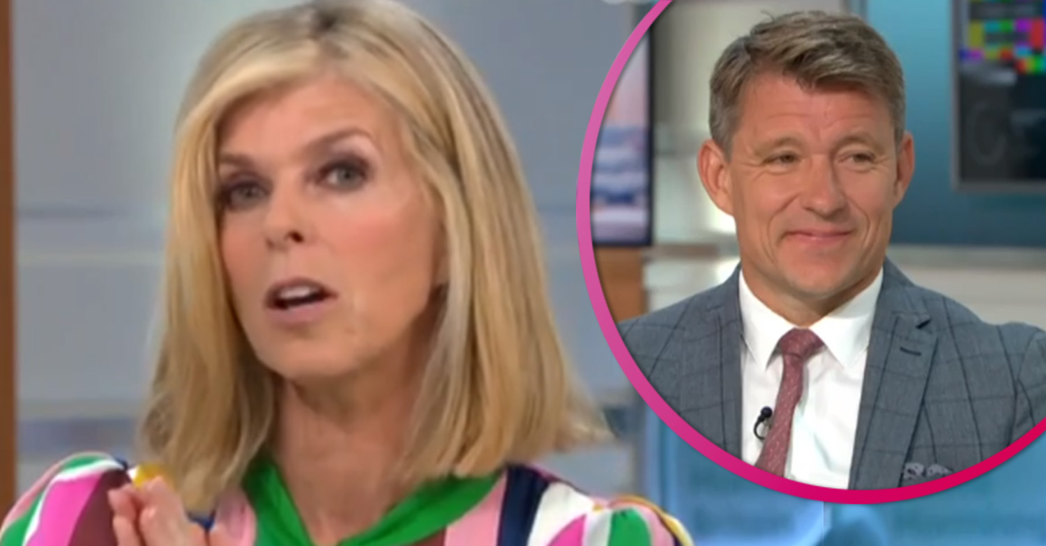 Kate Garraway reveals Ben Shephard 'healed her' as husband remains in hospital