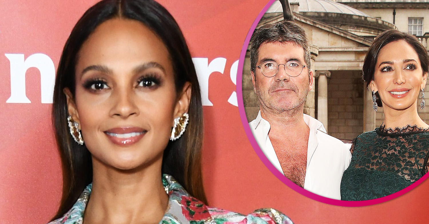 Alesha Dixon hits back at reports of 'feud' with Lauren Silverman over Simon Cowell