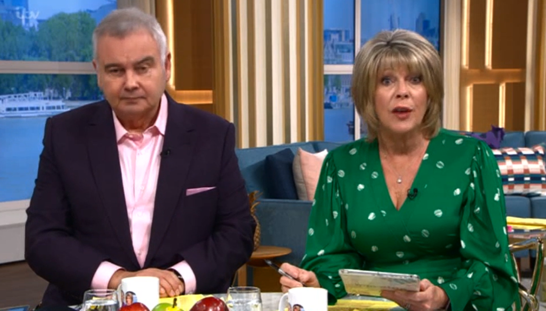 Eamonn Holmes Ruth Langsford This Morning Tuesday Credit: ITV