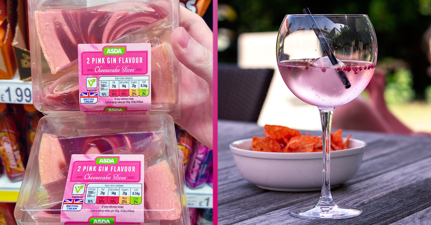 Asda launches Pink Gin Cheesecake Slices and gin fans are in heaven