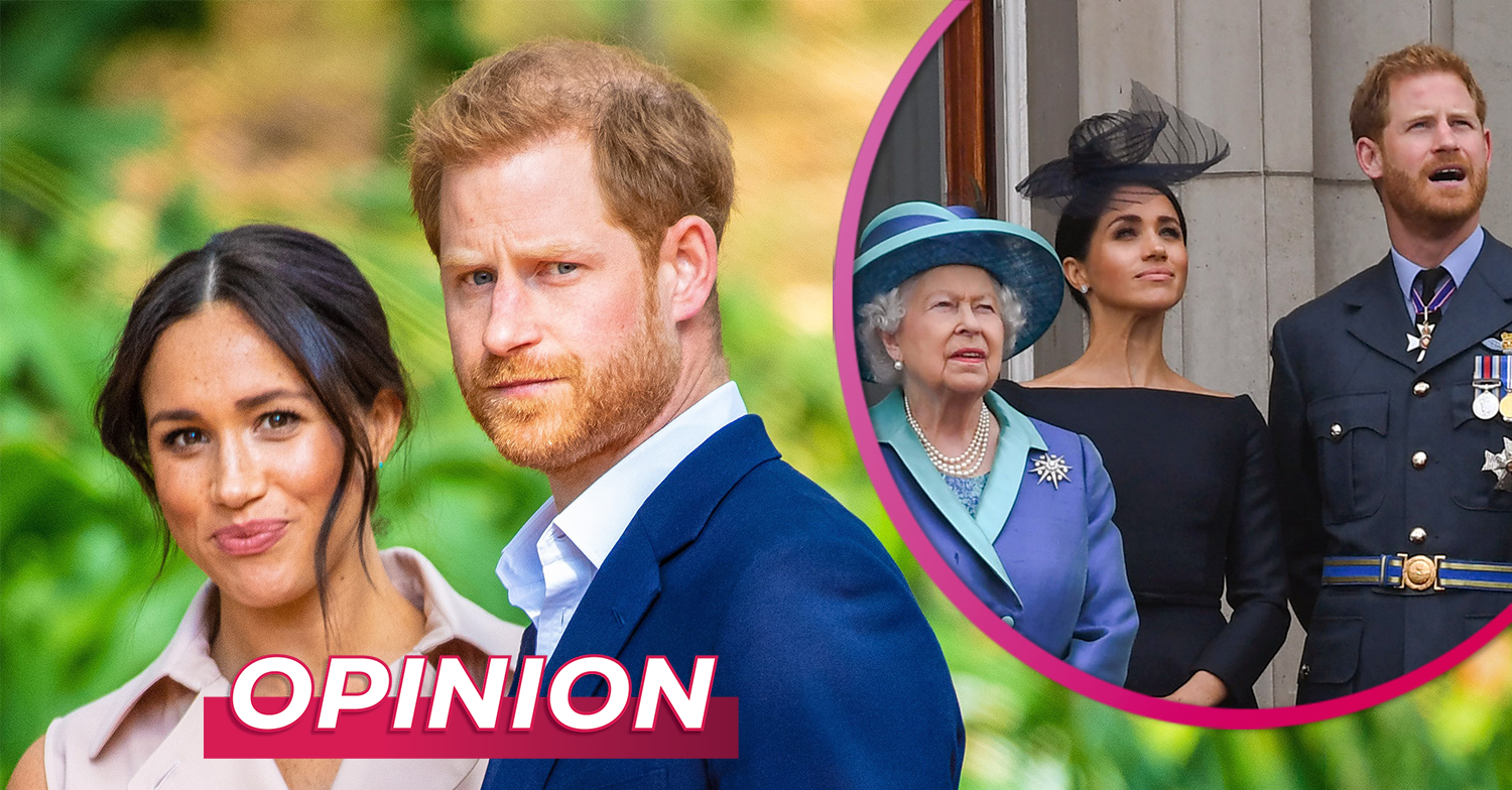 OPINION: 'Meghan and Harry deserve a break and did the right thing stepping back from royal life'