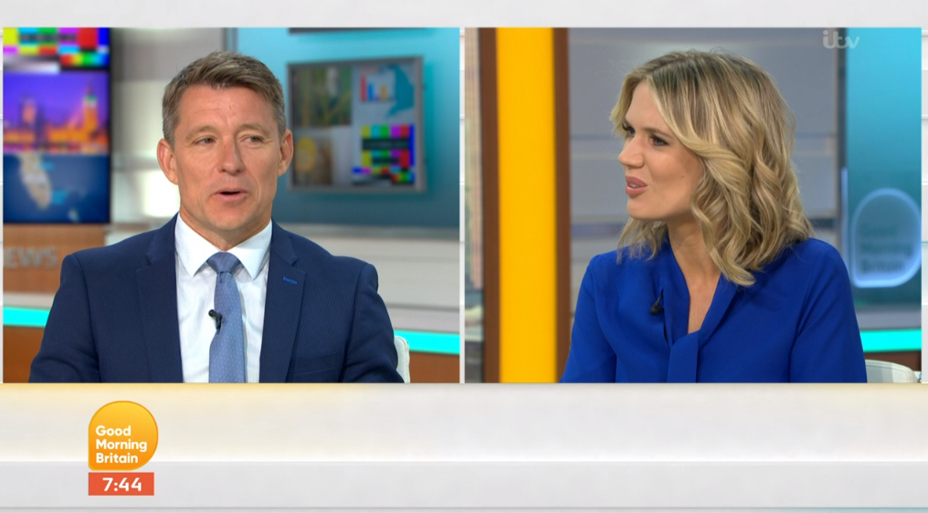 Ben Shephard and Charlotte Hawkins on GMB