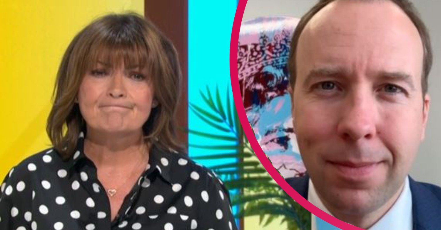 Lorraine viewers slam Matt Hancock as he appears on ITV while Piers Morgan is away