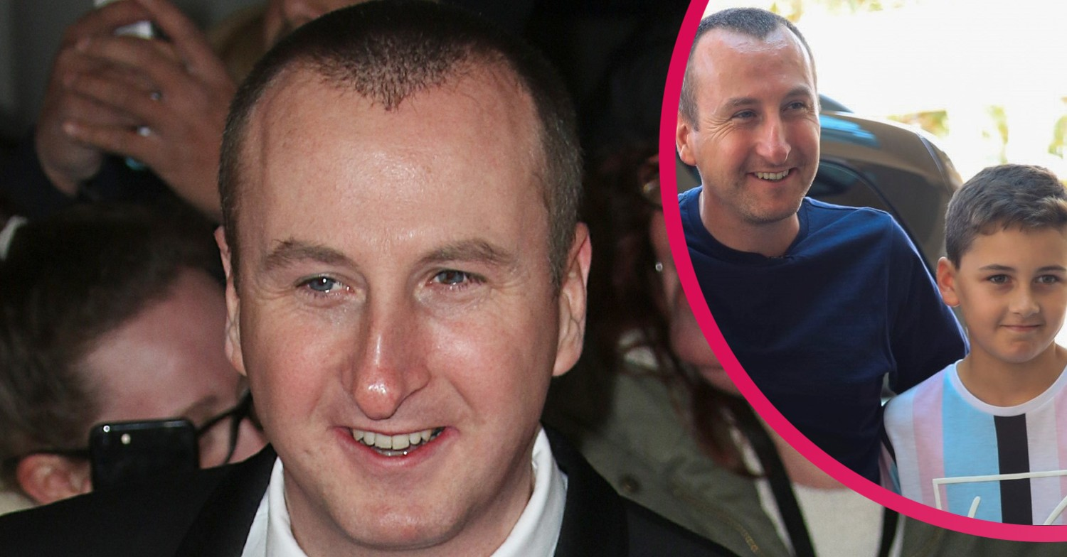 Coronation Street star Andy Whyment shares pride as son gets ready to leave school