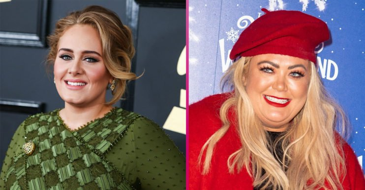 Adele and Gemma Collins
