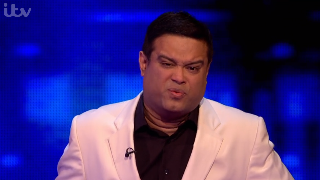 Paul Sinha on The Chase