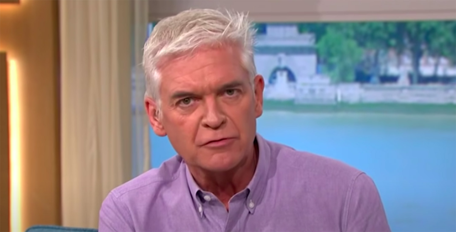 Phillip Schofield shares intimate naked bath video