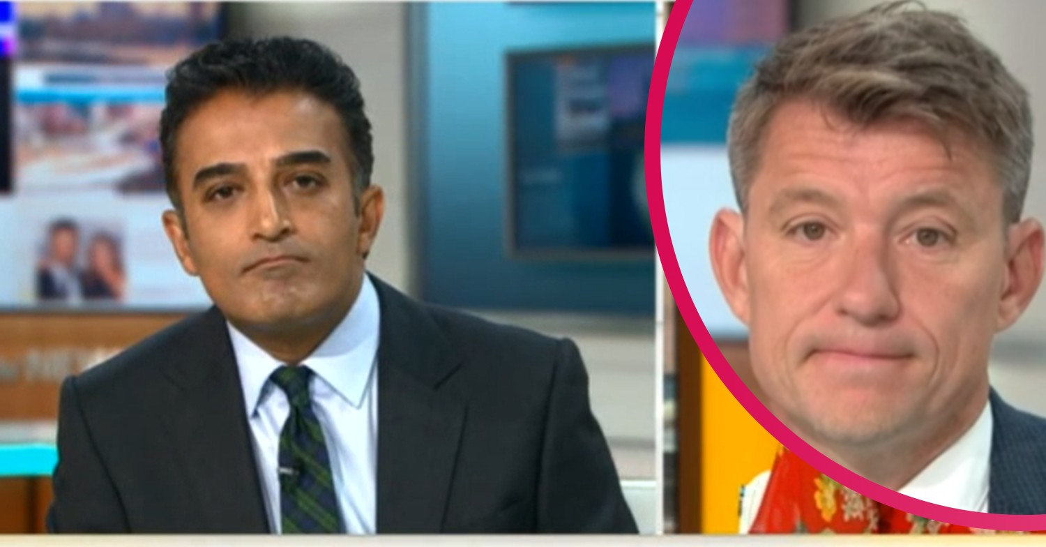 Good Morning Britain: Adil Ray replaces Ben Shephard
