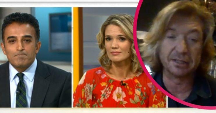 Nicky Clarke on Good Morning Britain Credit: ITV