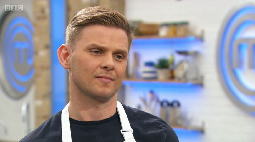 Celebrity MasterChef Jeff Brazier