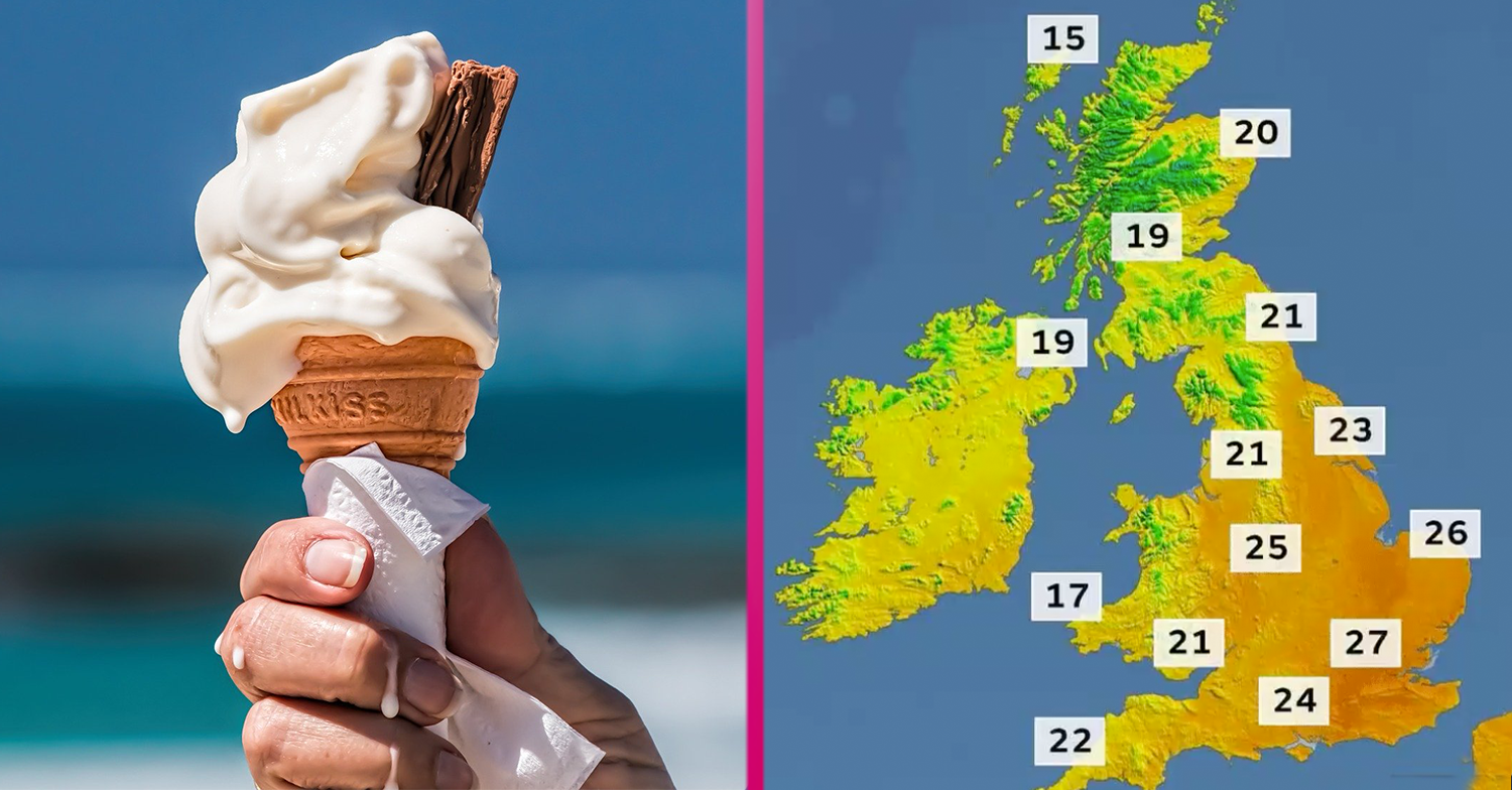 Brits to bask in scorching heatwave that'll last all weekend as Met Office reveals 'sunshine is back'