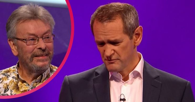Contestant Rod and Alexander Armstrong on Pointless