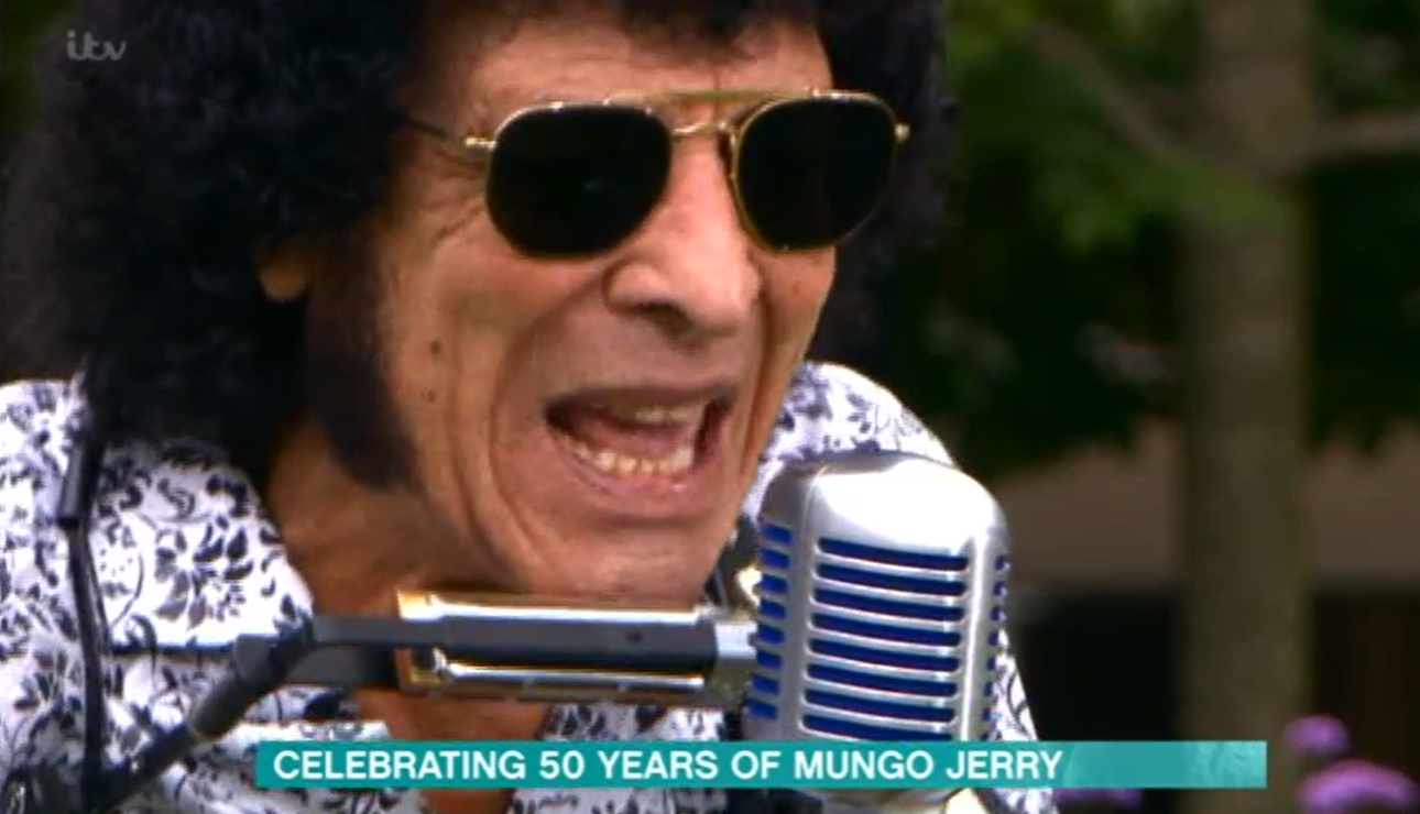 This Morning Mungo Jerry Ruth Langsford Eamonn Holmes Credit: ITV
