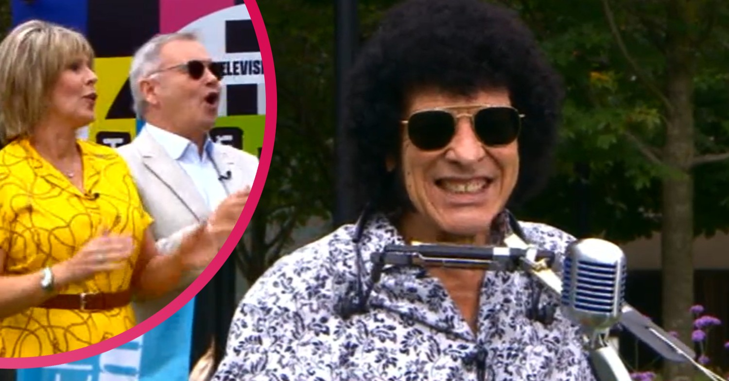 This Morning: Mungo Jerry's performance leaves viewers 'cringing'