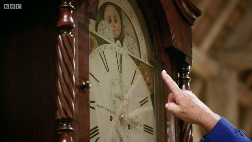 The Repair Shop grandfather clock