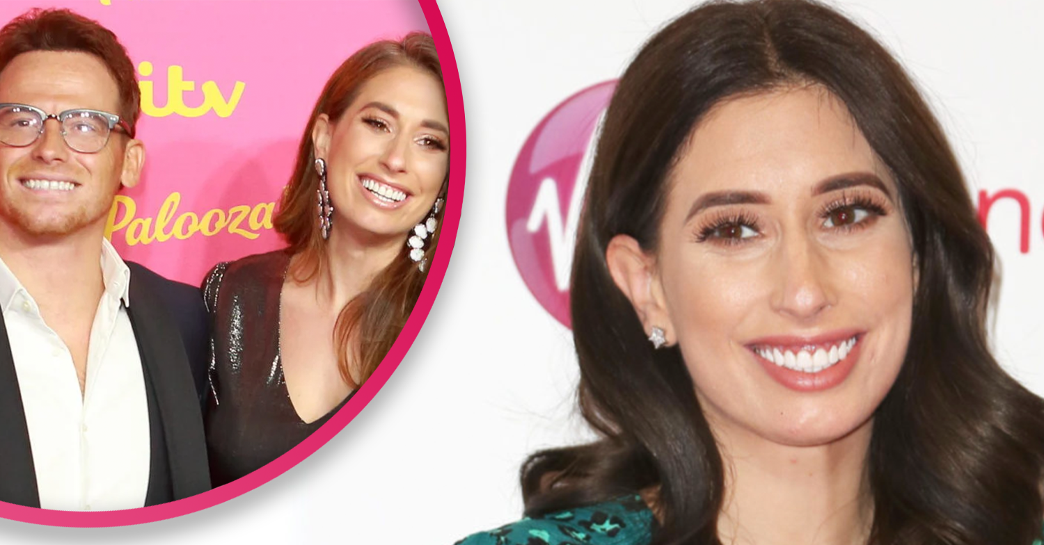 Stacey Solomon leaves celebrity pals gushing as she debuts incredible pink utility room