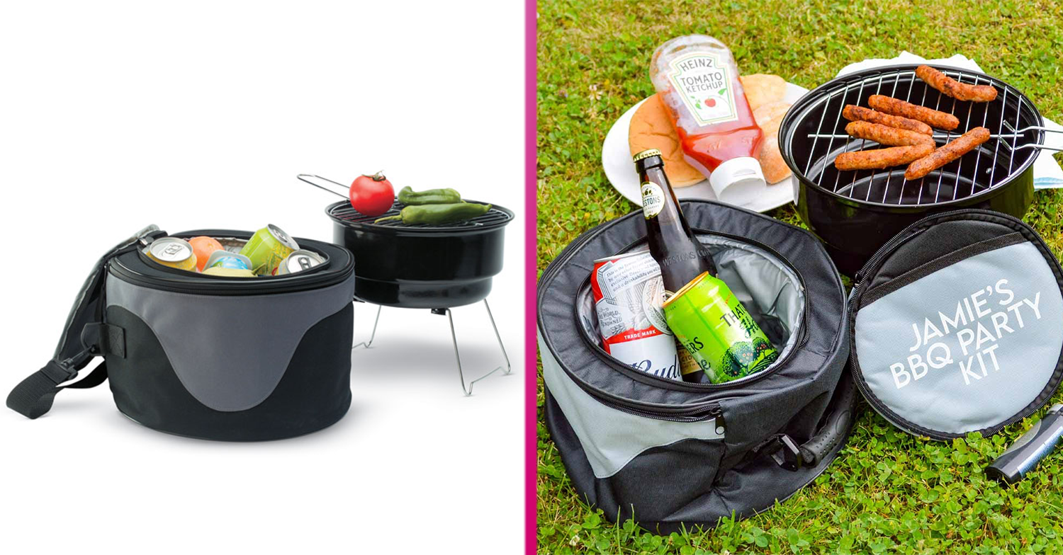 New portable barbecue complete with cool bag launches just in time for the heatwave