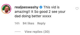 joe swash instagram