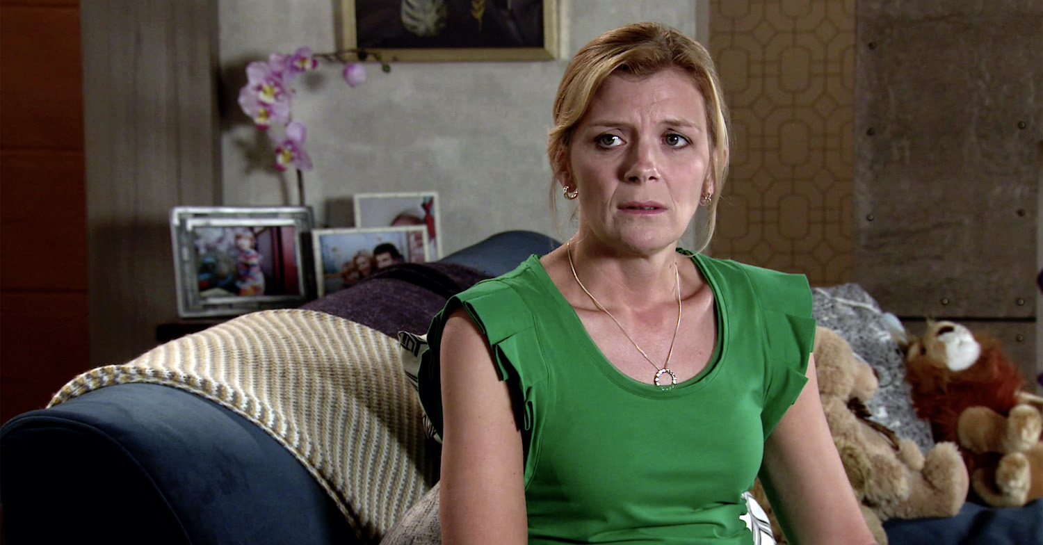 Coronation Street Oliver and Leanne