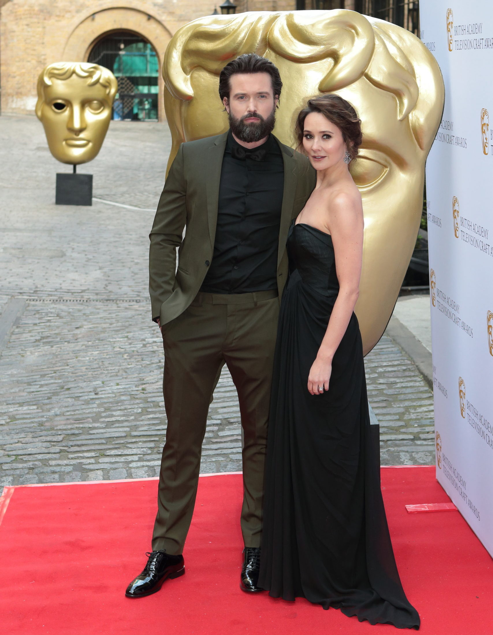Claire Cooper and Emmett Scanlan