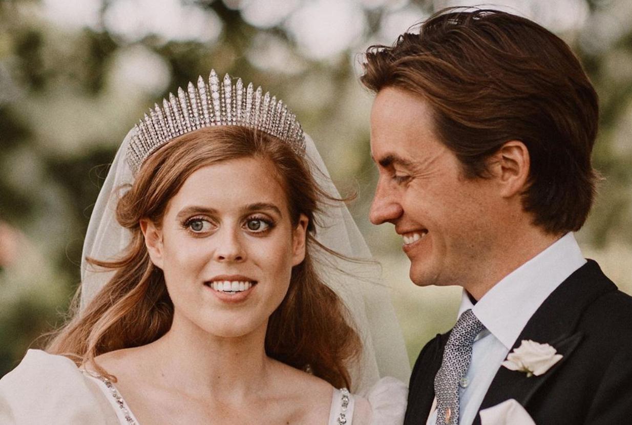 Beatrice wedding - Credit Benjamin Wheeler)