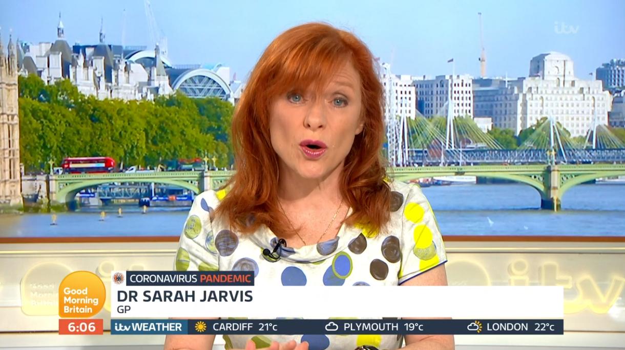 Dr Sarah Jarvis on GMB