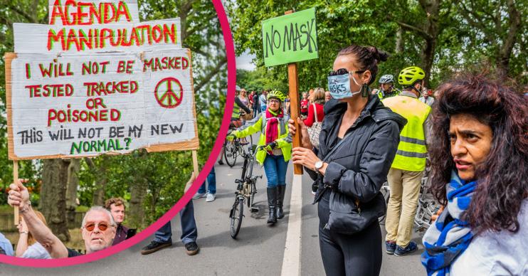 anti-mask activists