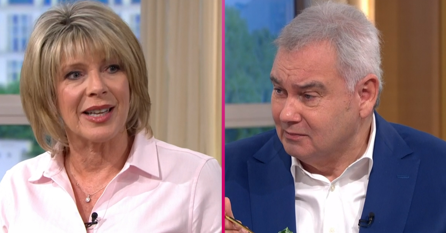 This Morning fans divided as Ruth Langsford and Eamonn Holmes bicker