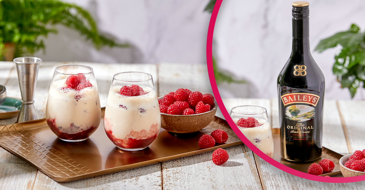 Baileys unveils its new Raspberry Ripple Cooler cocktail and it's perfect for summer