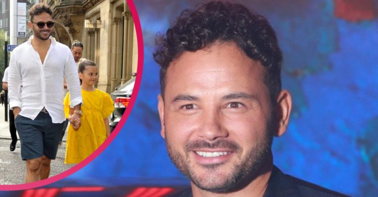 Ryan Thomas daughter Scarlett Credit: SplashNews