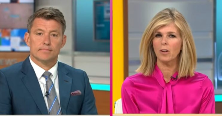 Ben Shephard Kate Garraway Good Morning Britain Credit: ITV