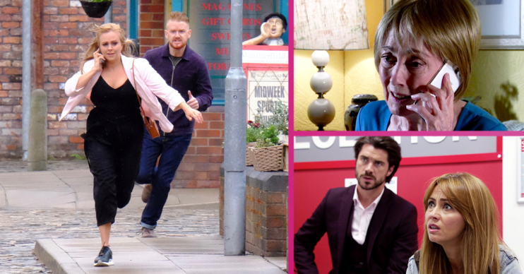 Coronation Street first look week 31 Credit: ITV