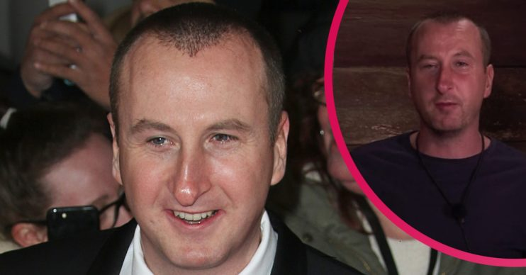 Andy Whyment slippers Credit: Splash News/ITV