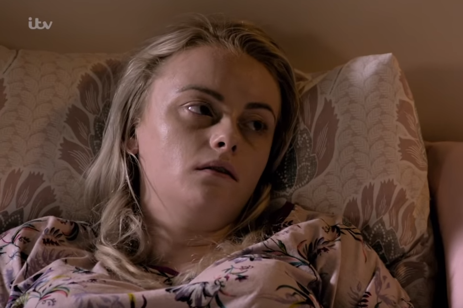 Sinead Osbourne on her death bed
