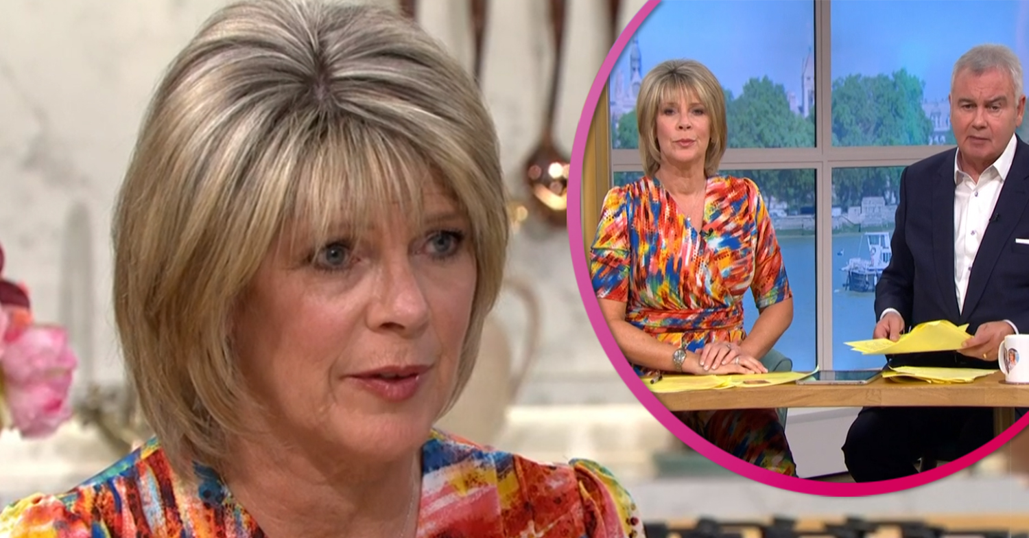 Ruth Langsford's dress has This Morning viewers all saying the same thing