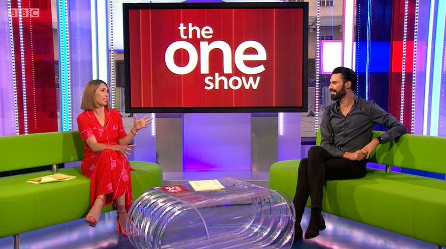 Alex Jones on The One Show