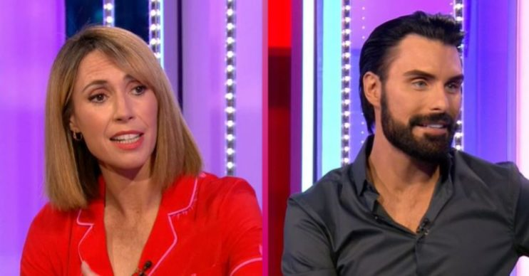 Alex Jones and Rylan on The One Show
