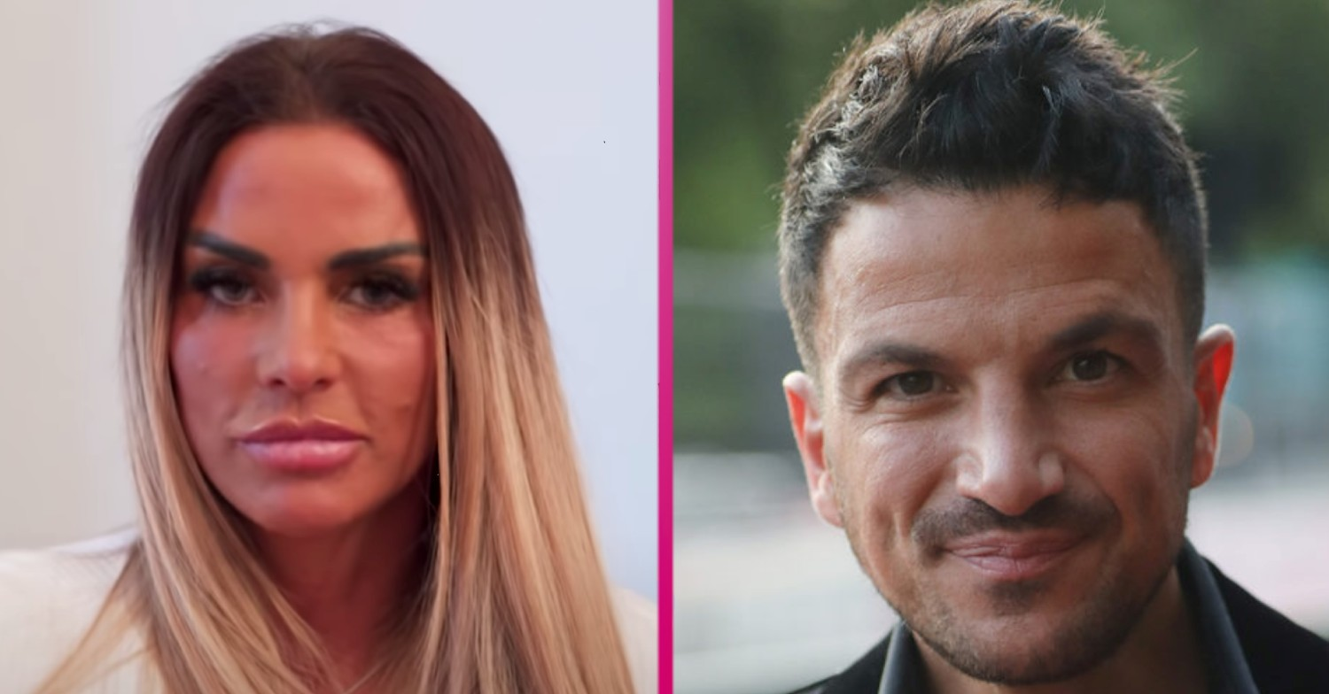 Katie Price praises ex Peter Andre for 'stepping up' with her son Harvey